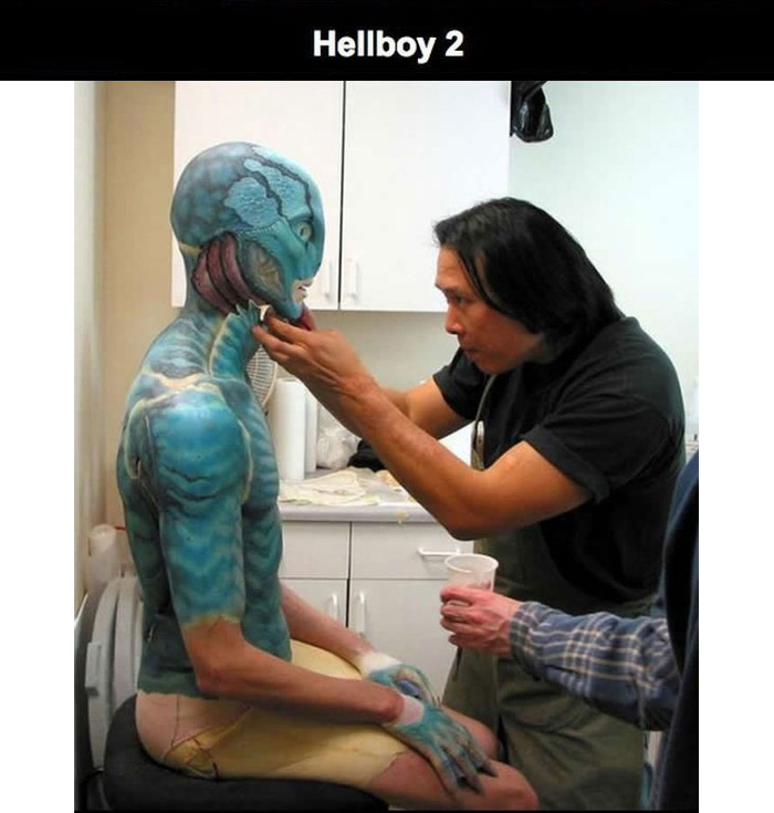The Magic That Brings Movie Makeup To Life (17 pics)