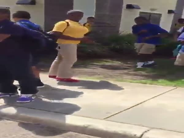 School Fight With A Surprising Result
