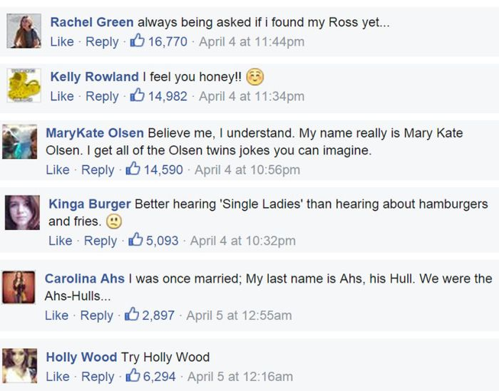 This Is What Happens To People Who Share Their Names With Celebrities (8 pics)