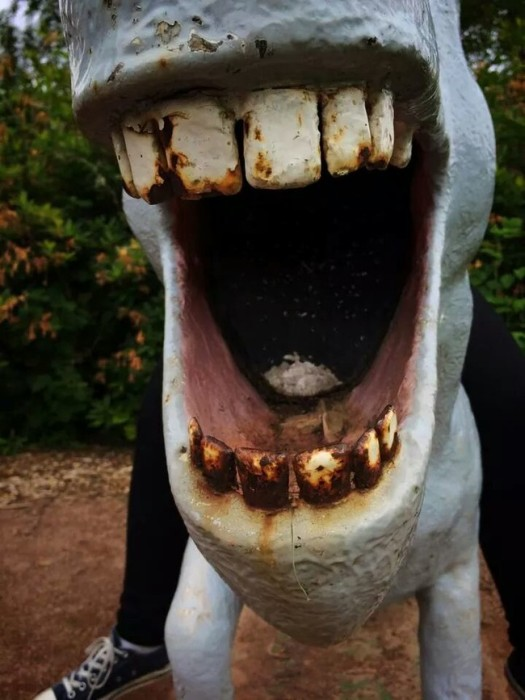 This Random Park In The U.K. Is Full Of Nightmare Fuel (7 pics)