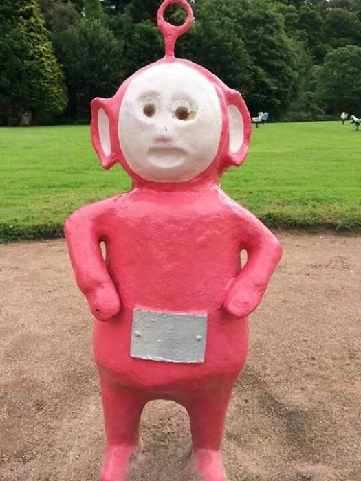 This Random Park In The U.K. Is Full Of Nightmare Fuel (7 pics)