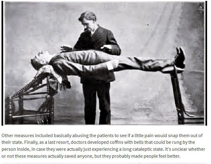 A Look Back At The Creepy History Behind Planking (5 pics)