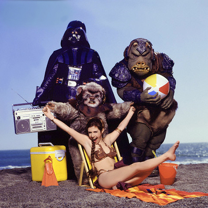 Vintage Star Wars Photo Spread From A 1983 Issue Of Rolling Stone (7 pics)