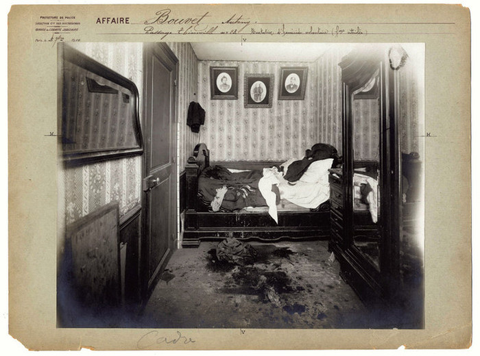 Vintage Crime Scene Photos From Back In The Day (10 pics)