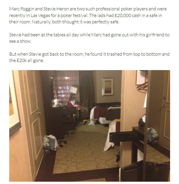 Friend Pulls The Wrong Kind Of Prank On This Professional Poker Player (5 pics)