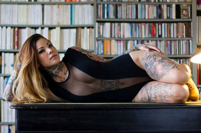 Gorgeous Girls Covered In Tattoos Is A Beautiful Sight (64 pics)