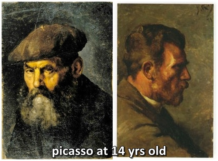 Pablo Picasso's Art Through The Ages (8 pics)