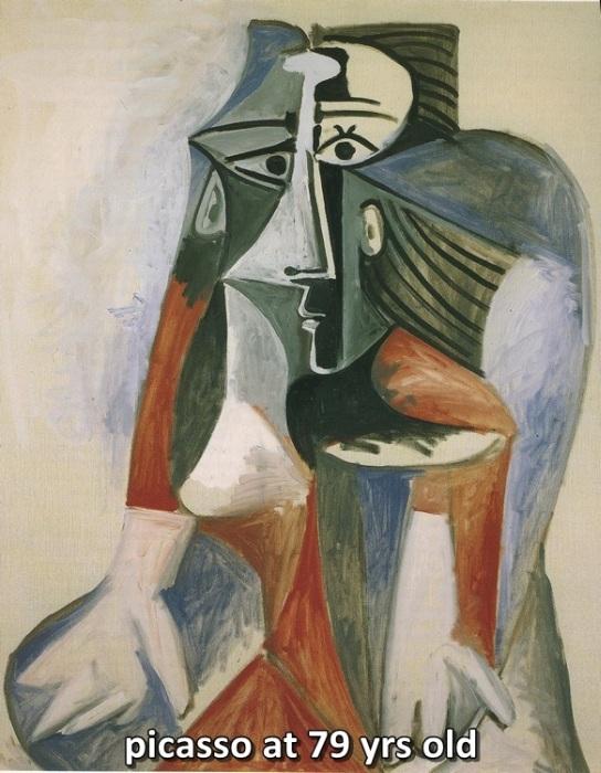 Pablo Picasso's Art Through The Ages (8 pics)