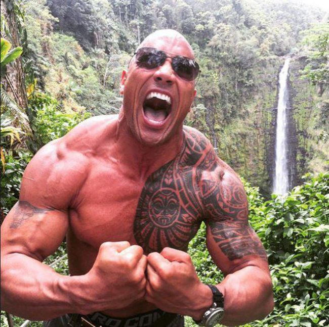 The Rock's Insane Diet Has Him Eating 10 Pounds Of Food A Day (3 pics)