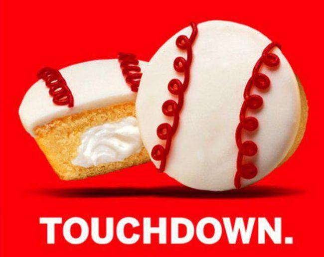 Hostess Snacks Trolled Baseball Fans On MLB Opening Day (5 pics)
