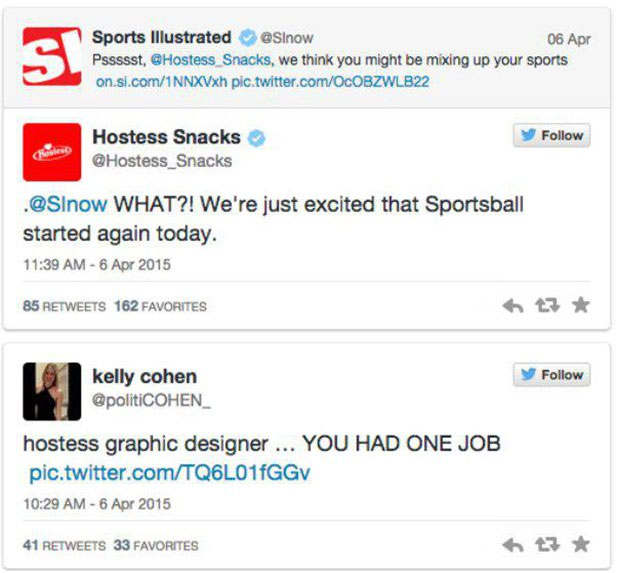 Hostess Snacks Trolled Baseball Fans On MLB Opening Day (5 pics)