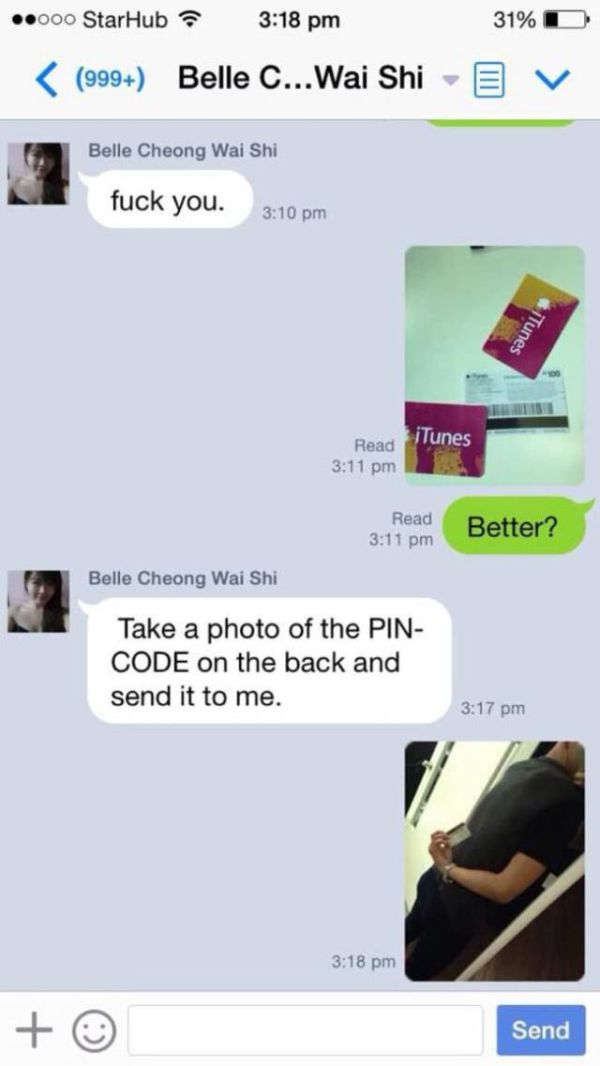 Scammer Gets Trolled (20 pics)