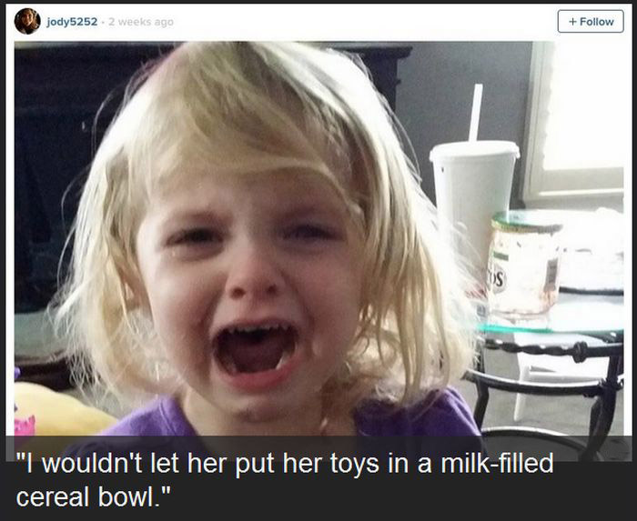 Unreasonable Kids (12 pics)