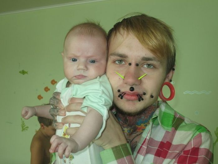 This Man Took Body Modification To The Extreme (17 pics)