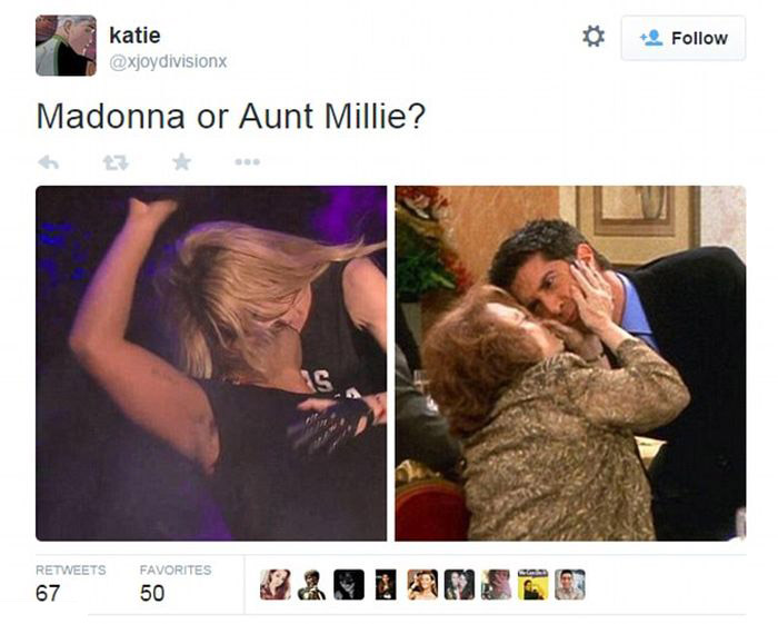 Everyone Is Freaking Out Over Drake's Reaction To Kissing Madonna (17 pics)