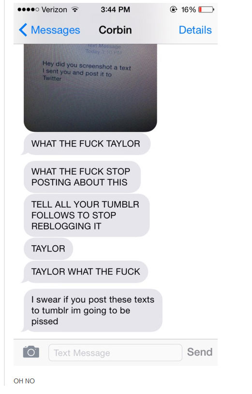 Taylor Knows How To Troll On Tumblr (4 pics)