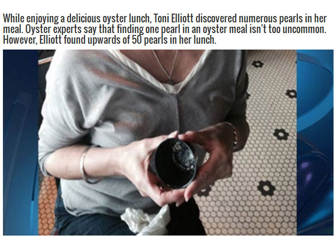 Lucky Woman Finds A Fortune Hidden Inside Her Lunch (3 pics)