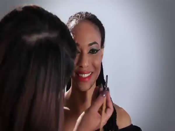 Women Makeup Evolution