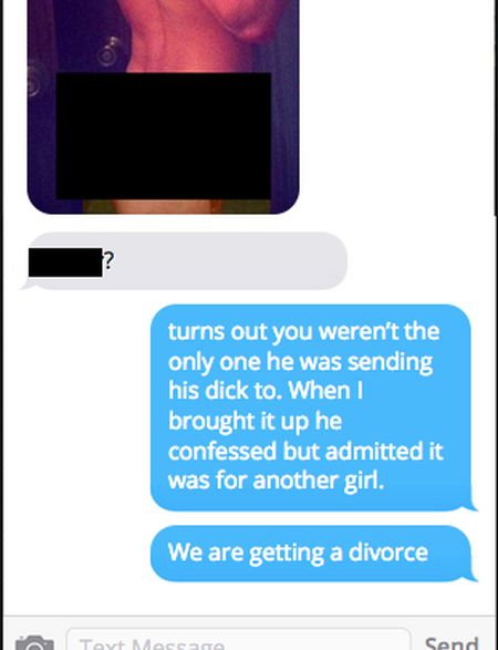 Cheating Husband Gets Busted On Snapchat (7 pics)