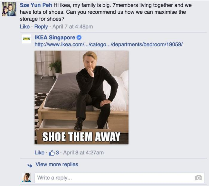 Ikea Has The Best Responses To Customer Questions On Facebook (13 pics)