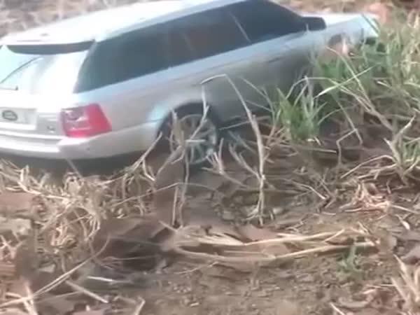 Range Rover Sport Stuck