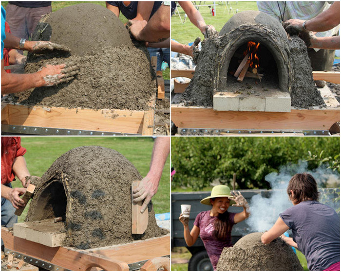 These People Made The Perfect Pizza Oven Using Mud (8 pics)