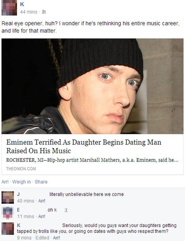 It's Hilarious When People Take The Onion Seriously On Facebook (20 pics)