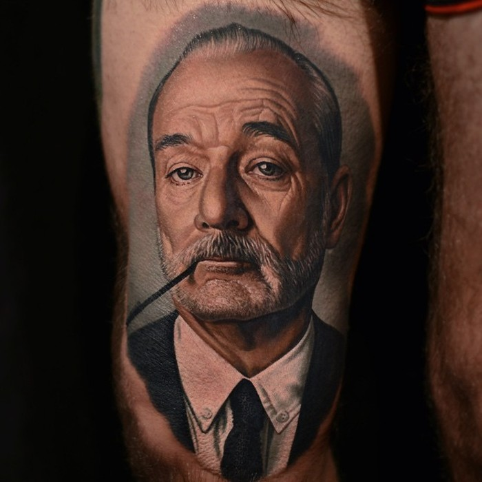 Nikko hurtado brings movie characters to life with amazing for Best realistic tattoo artists