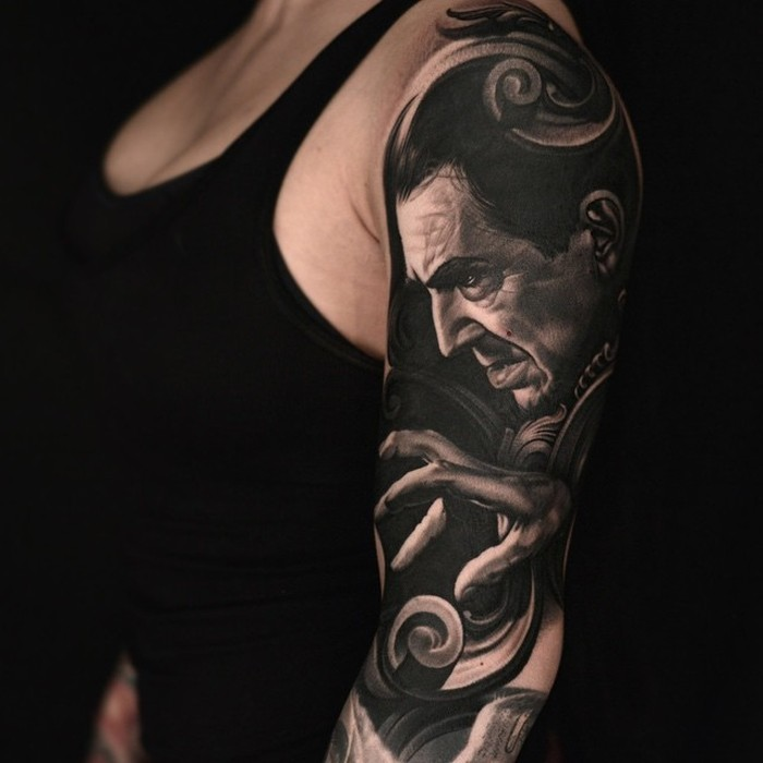 Nikko Hurtado Brings Movie Characters To Life With Amazing Tattoo Art (23 pics)