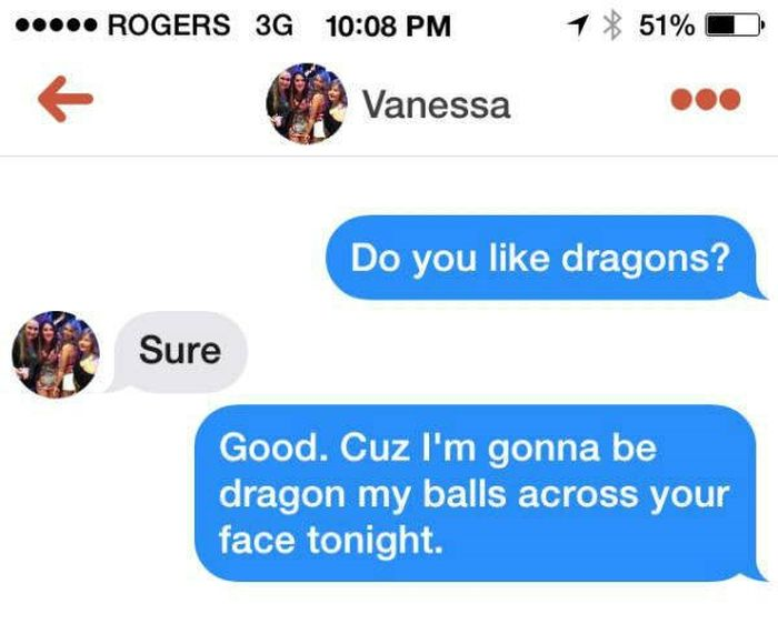 People Who Just Got Straight To The Point On Tinder (14 pics)