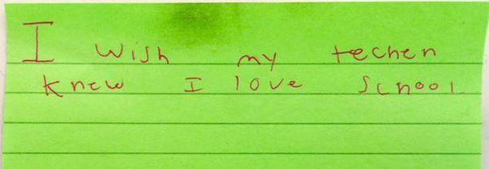 Third Graders Write Honest Messages To Their Teachers (16 pics)