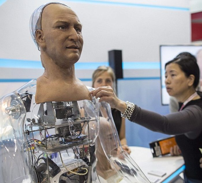 This Amazing Humanoid Robot Can Make Lifelike Facial Expressions (7 pics)