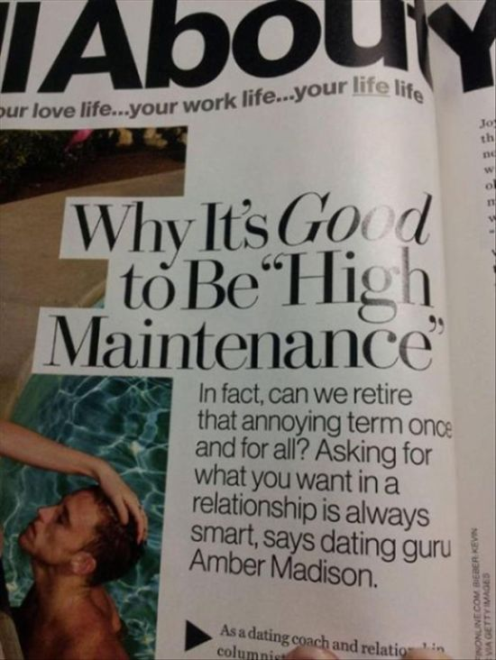 Awful Magazine Articles For Women (16 pics)