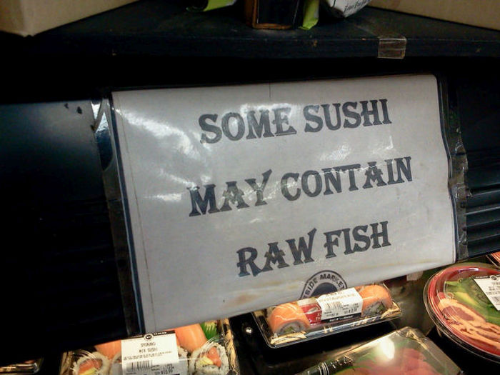Signs And Messages That Could Win Awards For Being Obvious (41 pics)