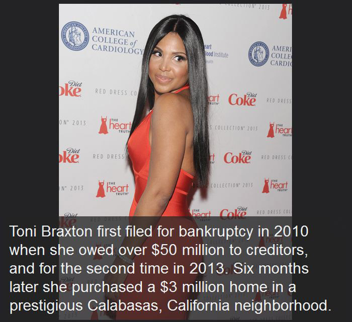 17 Celebrities Who Are Really Bad With Money (17 pics)