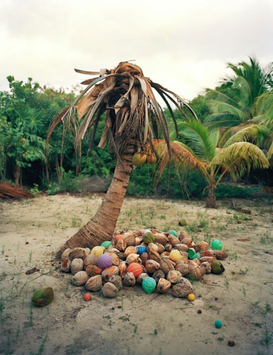 Man Takes Trash From The Shores Of Mexico And Turns It Into Art (10 pics)