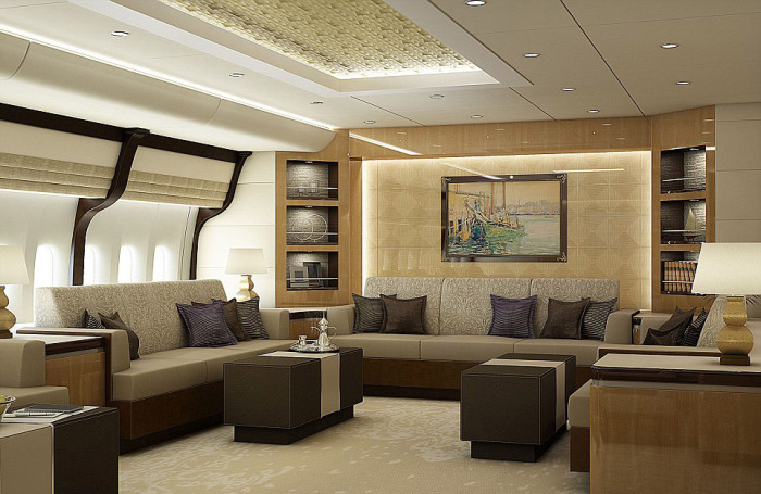 This Jumbo Jet Is A $400 Million Dollar Mansion With Wings (13 pics)