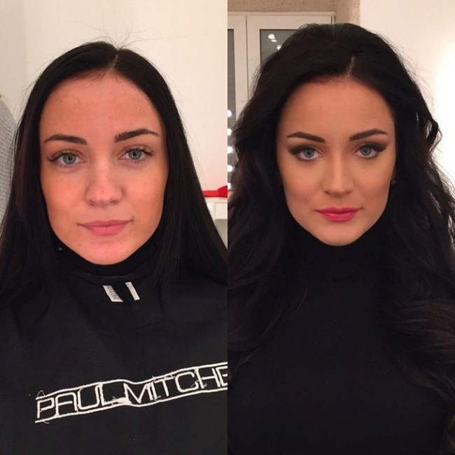 Before And After Photos Show Just How Powerful Makeup Is (26 pics)