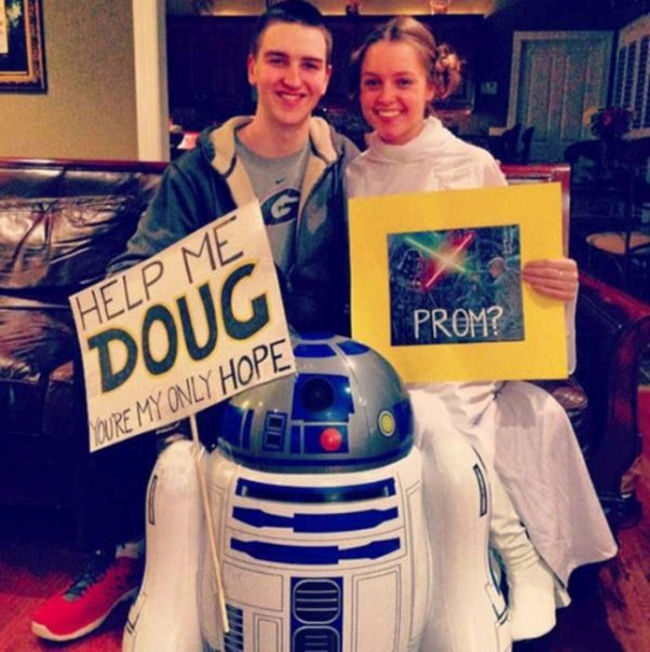 Prom Proposals That Might Have Been A Little Over The Top (20 pics)