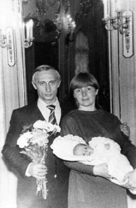 Vintage Photos Of A Young Vladimir Putin (15 pics)