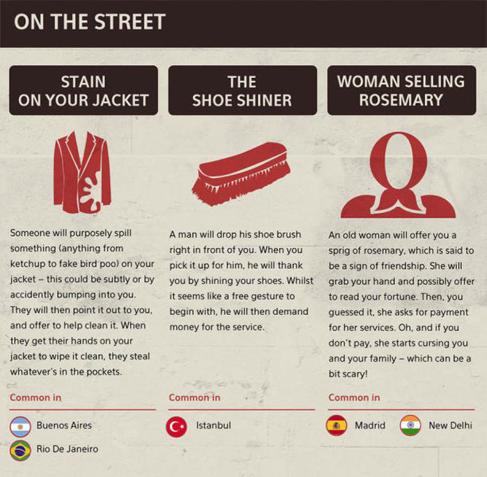 Tourist Scams You Need To Watch Out For This Summer (15 pics)