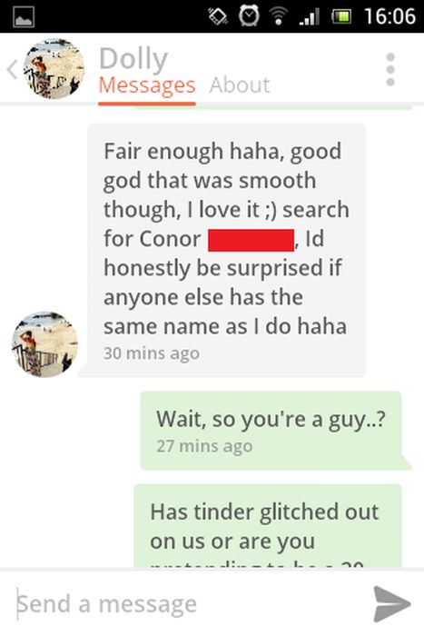 This Tinder Conversation Ends With An Insane Plot Twist (22 pics)