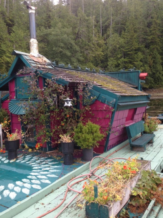 Couple Goes Off The Grid And Builds Their Own Island (12 pics)
