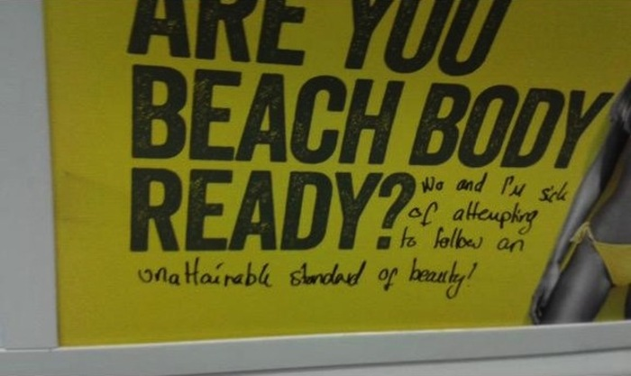 Feminists Rally Against New Beach Body Ready Ad (12 pics)