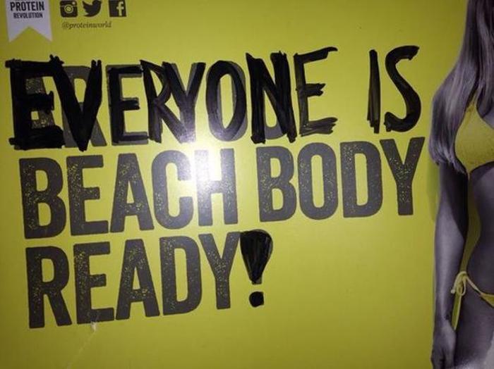 Feminists Rally Against New Beach Body Ready Ad (12 pics)