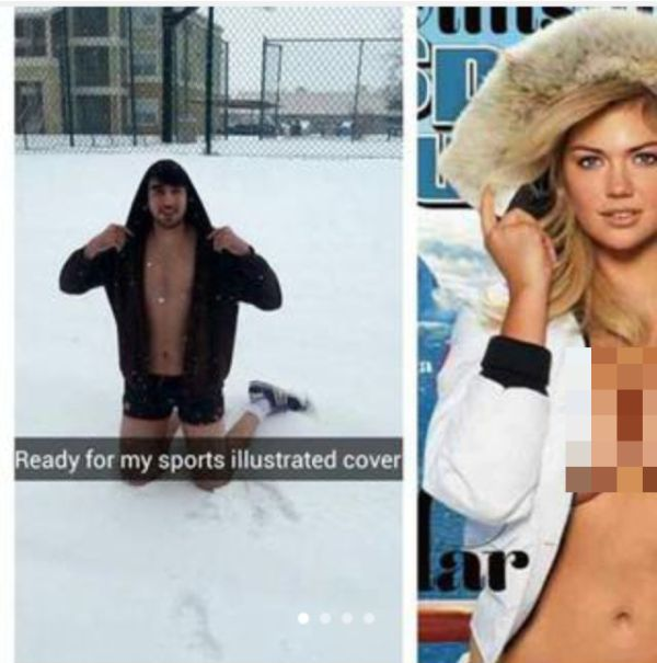 This Guy's Kate Upton Parody Picture On Tinder Is Working Wonders (9 pics)