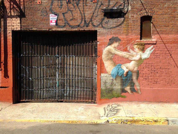 When Classic Paintings Get Transformed Into Street Art (14 pics)