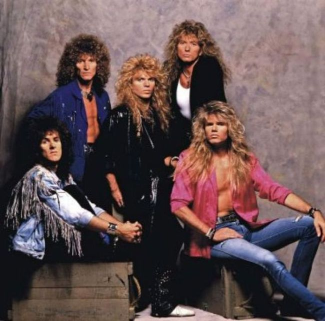 The Best 80s Metal Hair Bands Back In The Day And Today (49 pics)