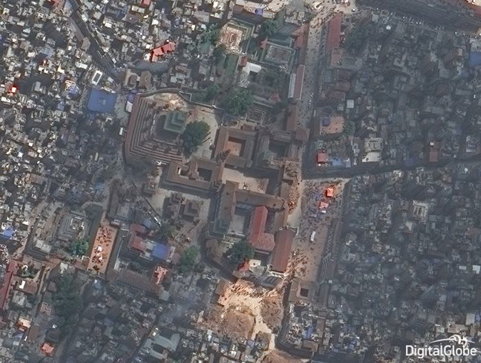 Satellite Images Show The Destruction That Has Taken Place In Nepal (8 pics)
