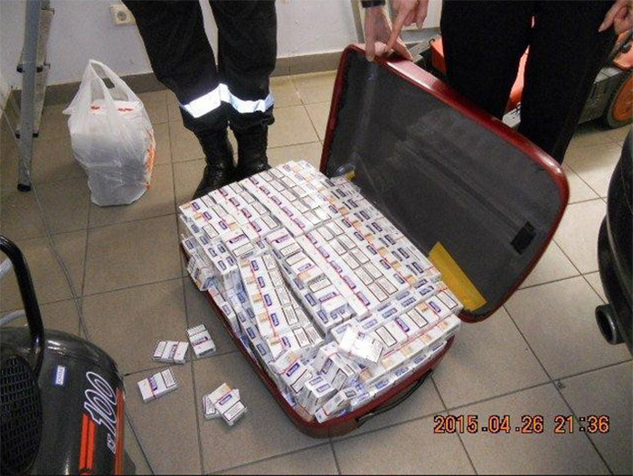 Image result for smuggling cigarettes